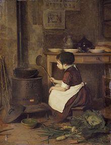 La piccola cuoca_Pierre Édouard Frère_Brooklyn Museum
